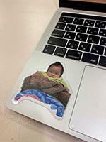 フワちゃん 赤ちゃんシール