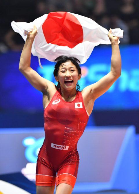 須崎優衣世界選手権