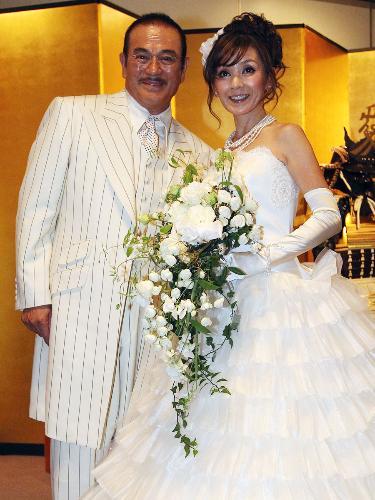 千葉真一さんと妻・玉美さん