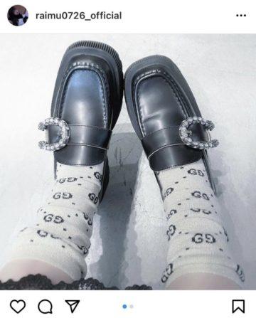 多屋ライムインスタ画像 靴
